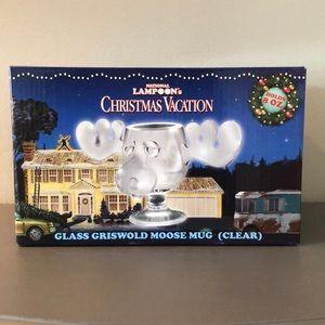 Christmas Vacation Glass Griswold Moose Mug